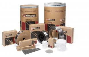 Weartech Hardfacing Consumables Family